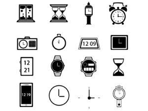 色んな時計